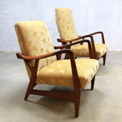2 lounge chairs from the fifties by unknown designer for Topform