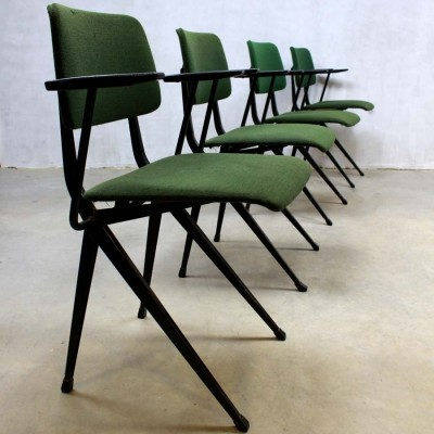 Set of 4 S201 dinner chairs from the sixties by unknown designer for Marko Holland