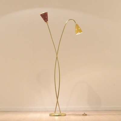 Floor lamp from the fifties by unknown designer for Lunel