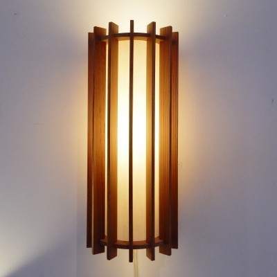 Tema I wall lamp by Ib Fabiansen for Fog & Mørup, 1960s