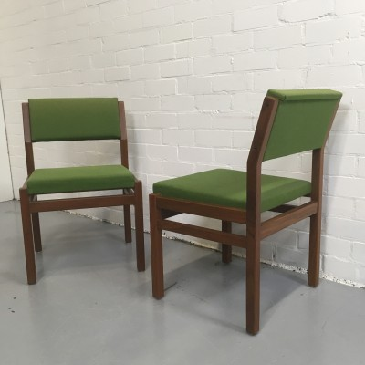 Set of 2 dinner chairs from the sixties by Cees Braakman for Pastoe