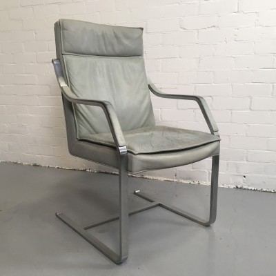 Art Collection office chair from the seventies by unknown designer for Walter Knoll
