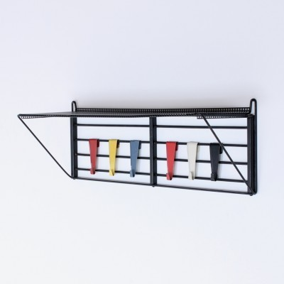 Musical Scale coat rack from the fifties by Tjerk Reijenga for Pilastro