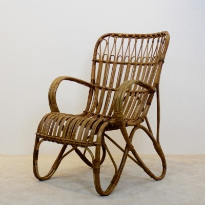 Lounge chair from the seventies by unknown designer for Rohé Noordwolde