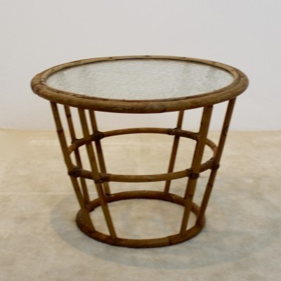 Side table from the seventies by unknown designer for Rohé Noordwolde