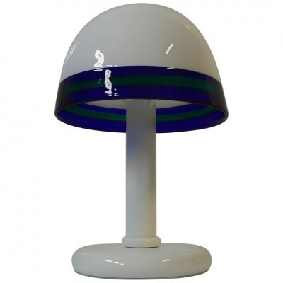 Mushroom desk lamp from the sixties by unknown designer for De Majo