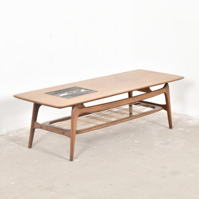 Coffee table from the fifties by Louis van Teeffelen for Wébé