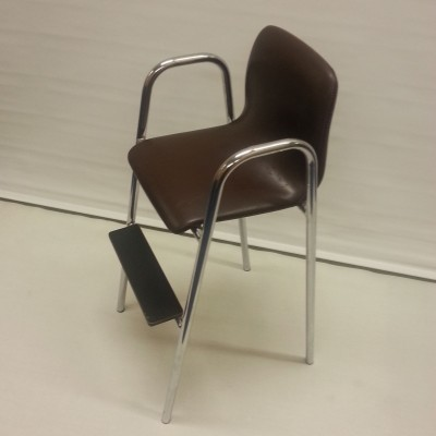 High Chair children furniture from the sixties by unknown designer for unknown producer