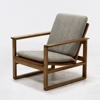BM2256 lounge chair by Børge Mogensen for Fredericia