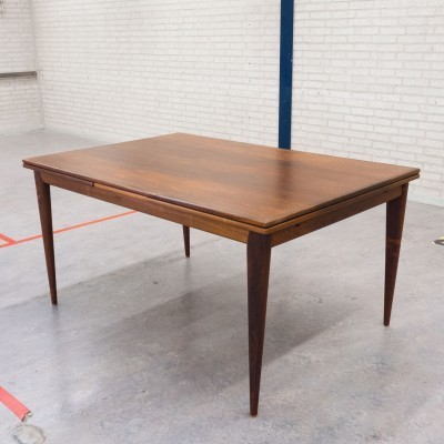 Model 12 dining table from the sixties by Niels O. Møller for JL Møller Møbelfabrik