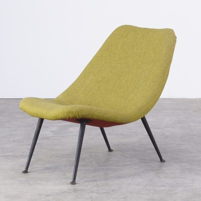 F122 lounge chair from the fifties by Theo Ruth for Artifort