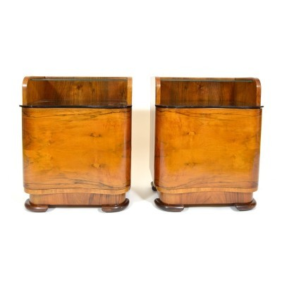 Set of 2 side tables from the fifties by unknown designer for unknown producer