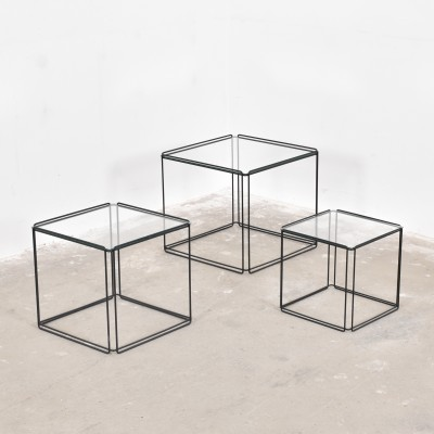Set of 2 nesting tables from the fifties by Max Sauze for Max Sauze Studio