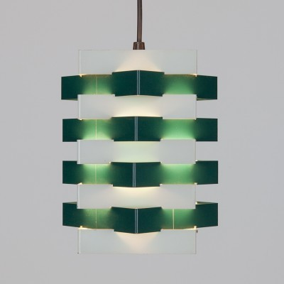 Star Light hanging lamp from the sixties by J. Hoogervorst for Anvia Almelo