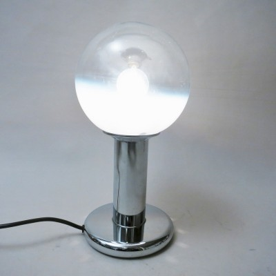 Ball desk lamp from the sixties by unknown designer for Mazzega