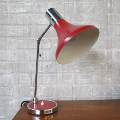 Desk lamp from the sixties by unknown designer for Hala Zeist