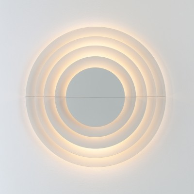 Meander wall lamp from the seventies by C. Emanuele Ponzio & Cesare Casati for Raak Amsterdam