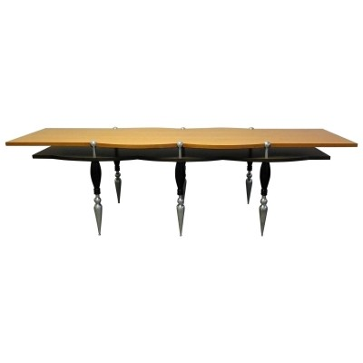 Tabule dining table from the nineties by Borek Sipek for unknown producer