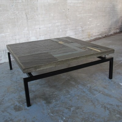 Coffee table from the sixties by Paul Kingma for Kingma