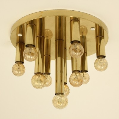 Ceiling lamp from the sixties by unknown designer for Solken Leuchten