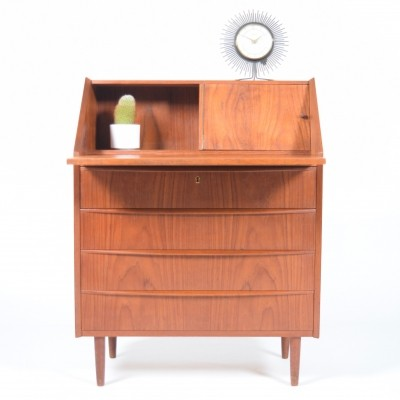 Writing desk from the fifties by unknown designer for unknown producer