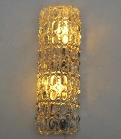Wall lamp from the fifties by unknown designer for Glashutte Limburg
