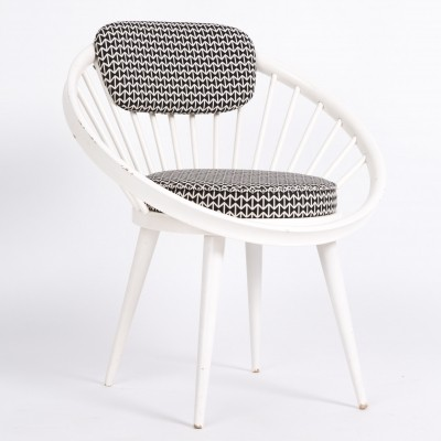 Circle lounge chair by Carl Ekström, 1960s