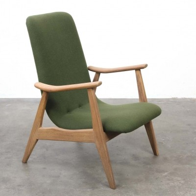 Arm chair from the sixties by unknown designer for Wébé