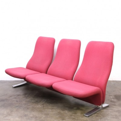 Concorde sofa from the sixties by Pierre Paulin for Artifort
