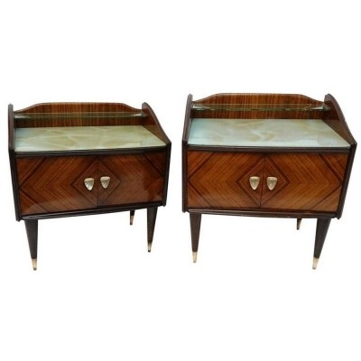 Set of 2 side tables from the fifties by unknown designer for Proserpio