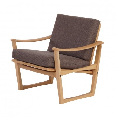 2 arm chairs from the sixties by unknown designer for M. Nissen
