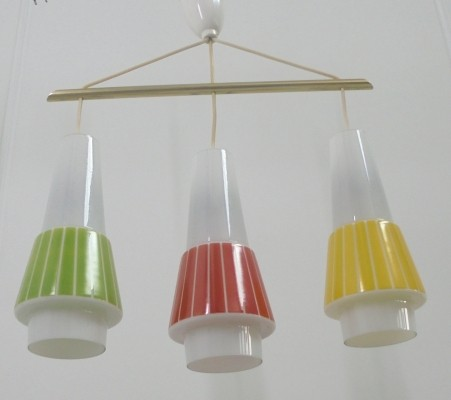 Hanging lamp from the fifties by unknown designer for VEB Leuchtenwerk