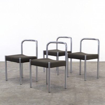 Set of 4 SE03 dinner chairs from the seventies by Martin Visser for Spectrum