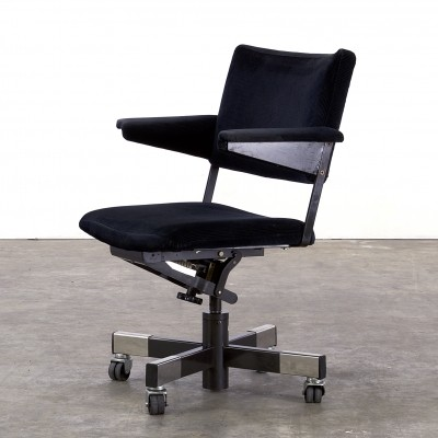 Model 1637 office chair from the sixties by unknown designer for Gispen