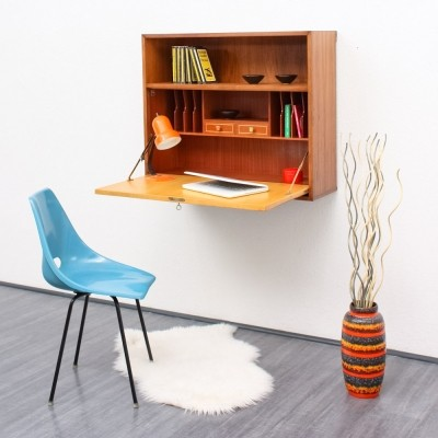 Writing Desk wall unit from the sixties by unknown designer for unknown producer