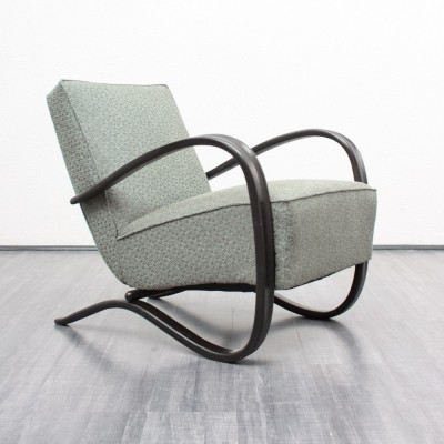 H269 arm chair from the thirties by Jindřich Halabala for Thonet