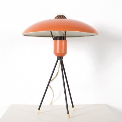 Tripod desk lamp by Louis Kalff for Philips, 1950s