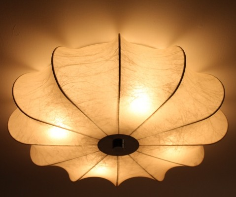Ceiling lamp from the sixties by Achille Giacomo Castiglioni for Flos