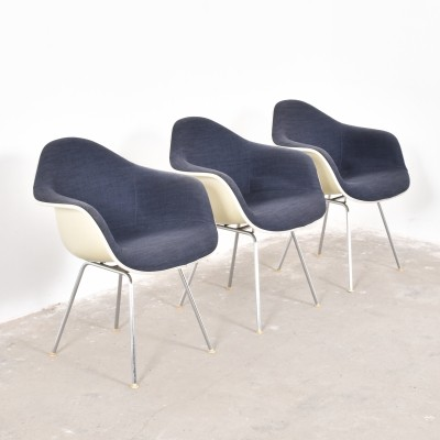 3 arm chairs from the fifties by Charles & Ray Eames for Vitra