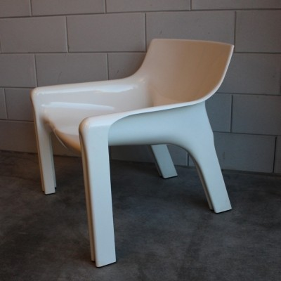 Vicario lounge chair by Vico Magistretti for Artemide, 1970s