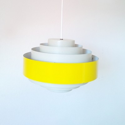 2 Ultra hanging lamps from the sixties by Jo Hammerborg for Fog & Mørup