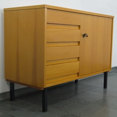 Sideboard from the sixties with Pfaff Sewing Machine