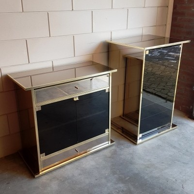 Set of 2 cabinets from the seventies by unknown designer for unknown producer