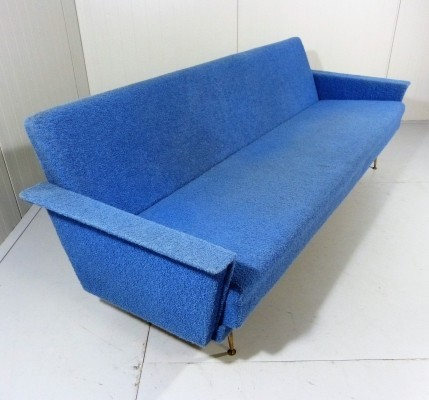 Bed sofa from the fifties by unknown designer for unknown producer