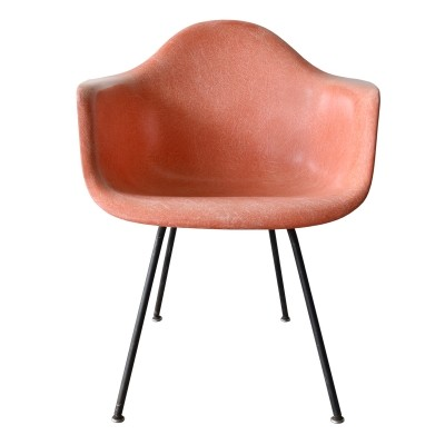DAX Salmon arm chair by Charles & Ray Eames for Herman Miller, 1950s