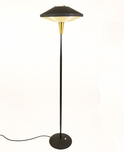 NX 546 E/00 floor lamp by Louis Kalff for Philips, 1950s