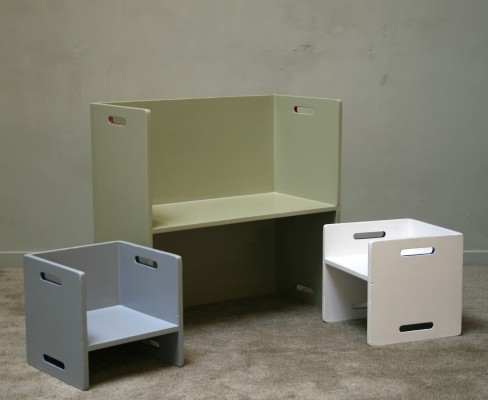 Children furniture from the sixties by unknown designer for Ado
