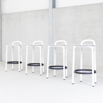 4 stools from the nineties by Anna Castelli Ferrieri for Kartell