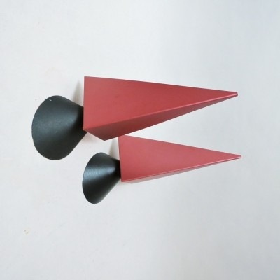 Set of 2 Ronda wall lamps from the nineties by Vico Magistretti for Oluce
