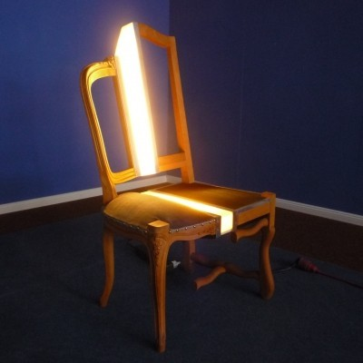 French Artist Chair by Ante Vojnovic, 1983